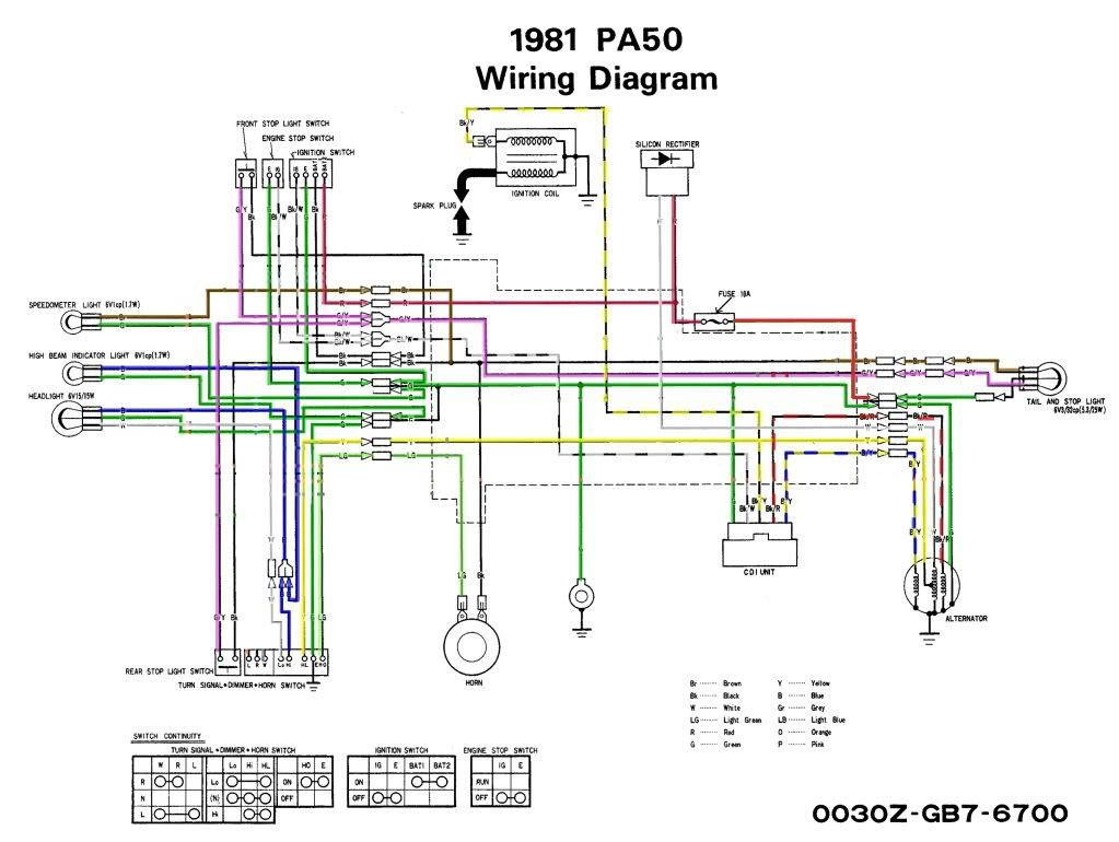 hight resolution of honda xl 125  wiring diagram