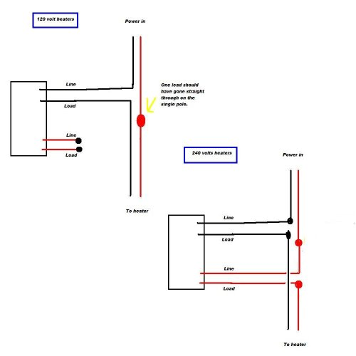 small resolution of baseboard heater control wiring diagram
