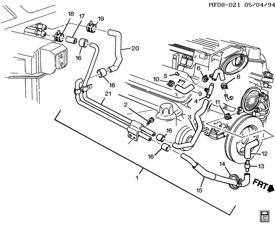 Wiring Diagram For 94 Camaro 5.7 Ignition Switch To Coil
