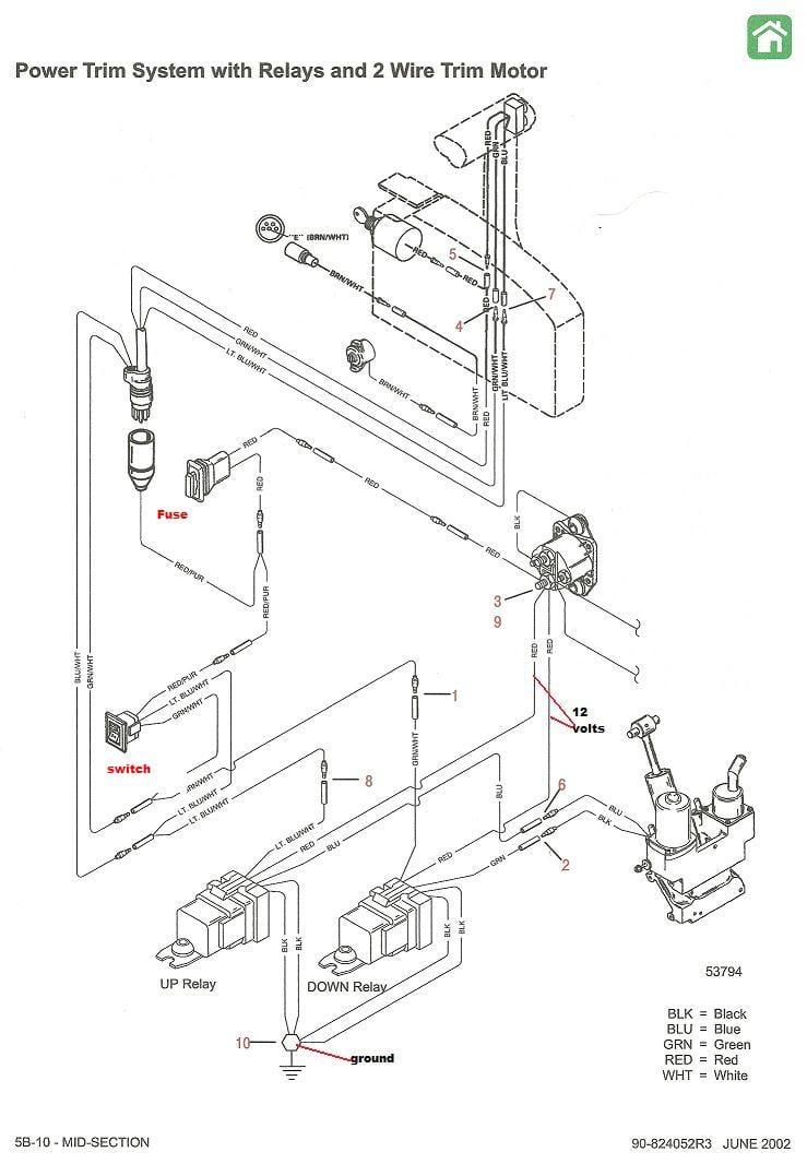 medium resolution of mercruiser trim sender wiring diagram