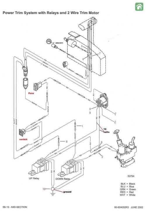 small resolution of mercruiser trim sender wiring diagram