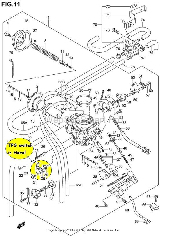 Wiring Diagram For A 2007 Suzuki C90