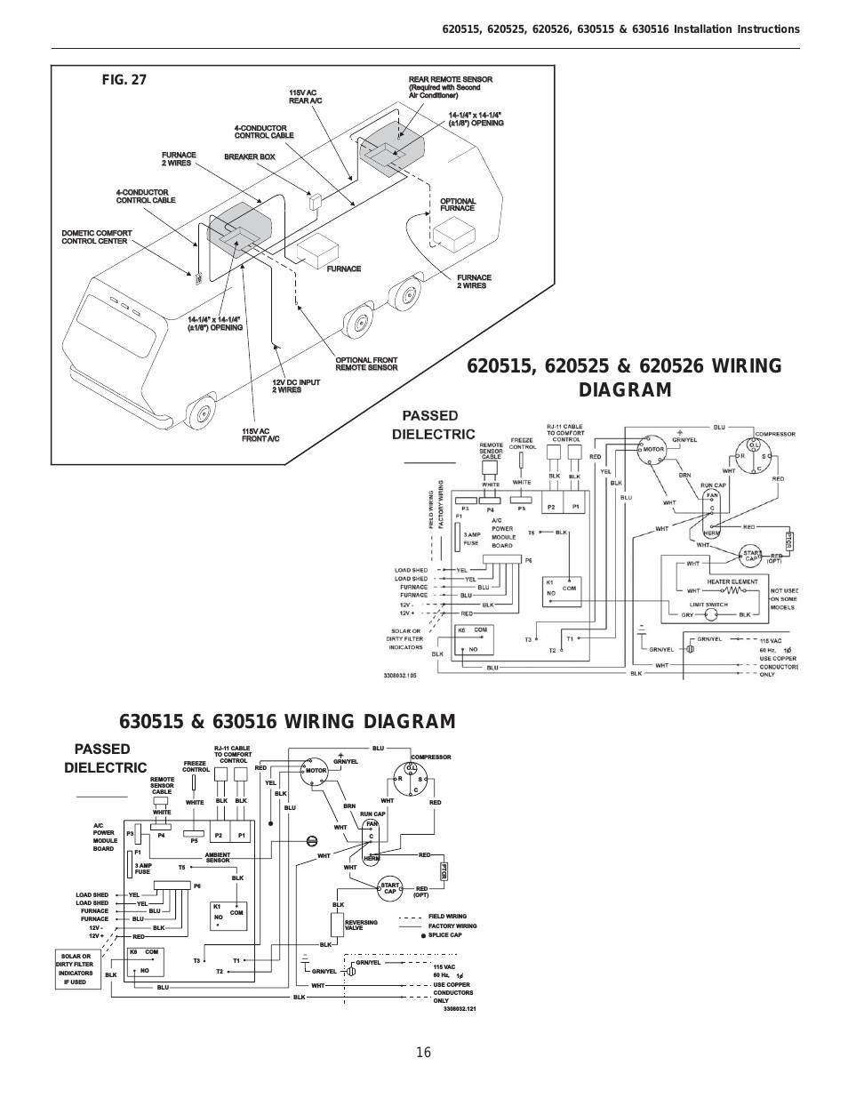 dometic penguin wiring diagram 2004 jeep grand cherokee window switch for a low profile air conditioner