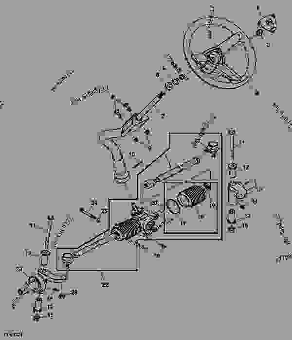 Wiring Diagram: 32 John Deere Z225 Parts Diagram