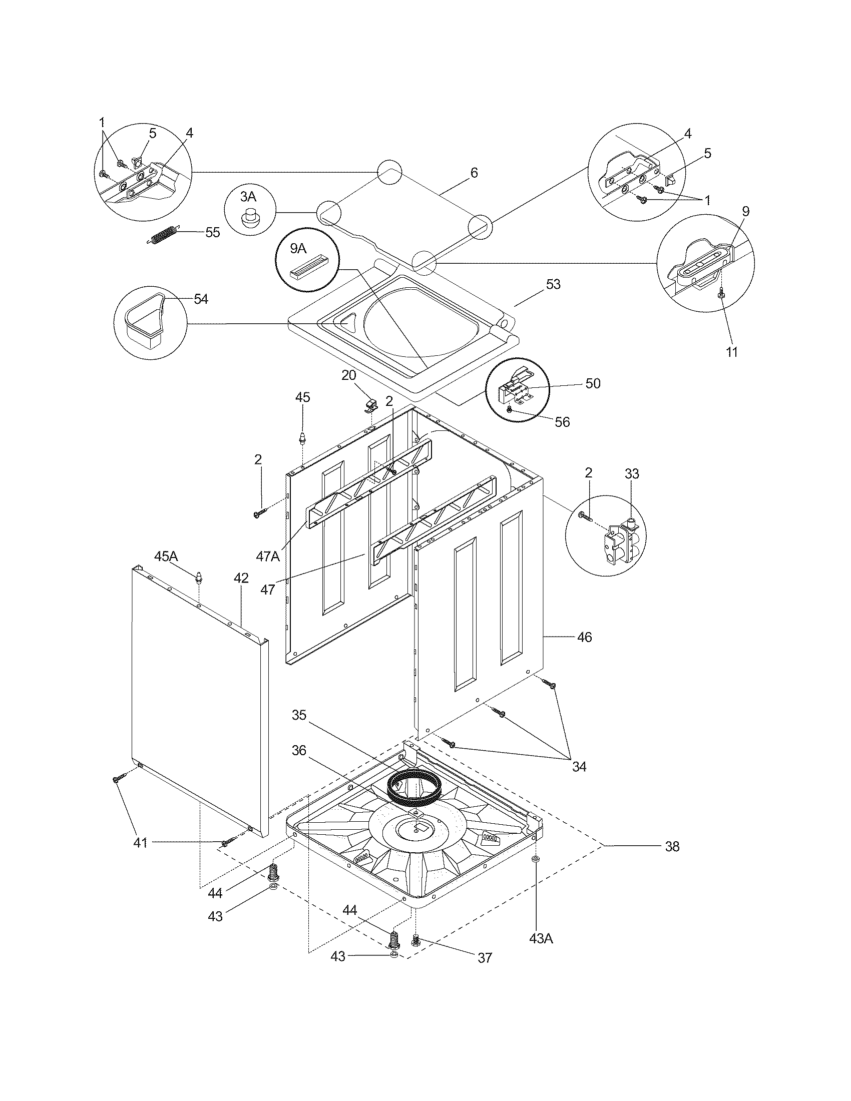 Wiring Diagram For Frigidaire Model Fgx831fs0 Washer Dryer