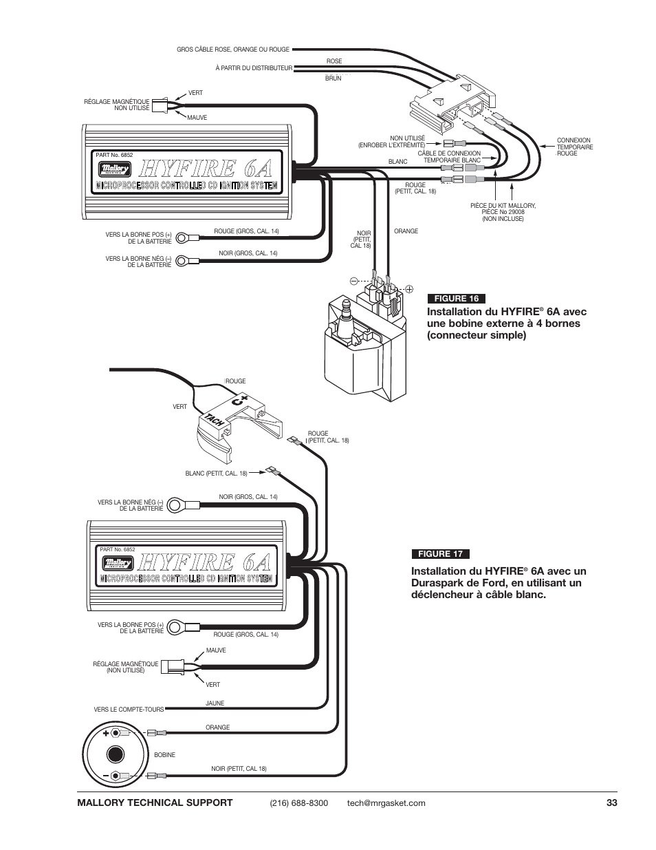 hight resolution of mallory ignition hyfire wiring diagram