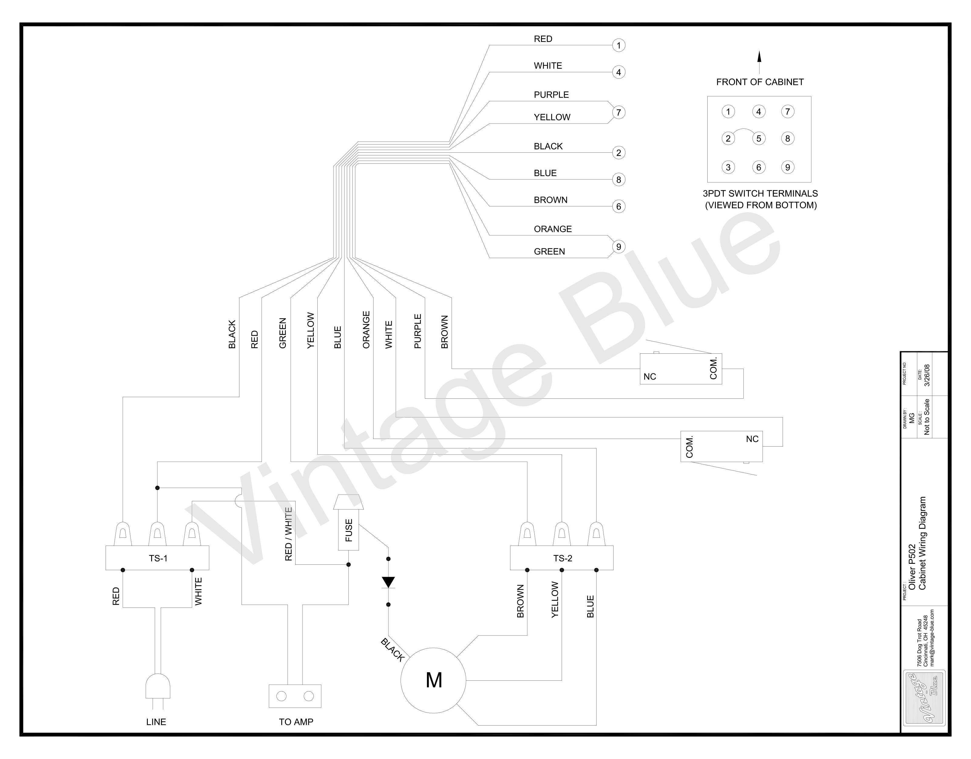 Wiring Diagram For Peavey Patriot