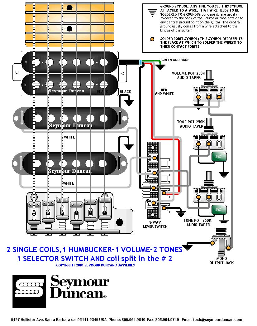medium resolution of seymour duncan wiring diagram single