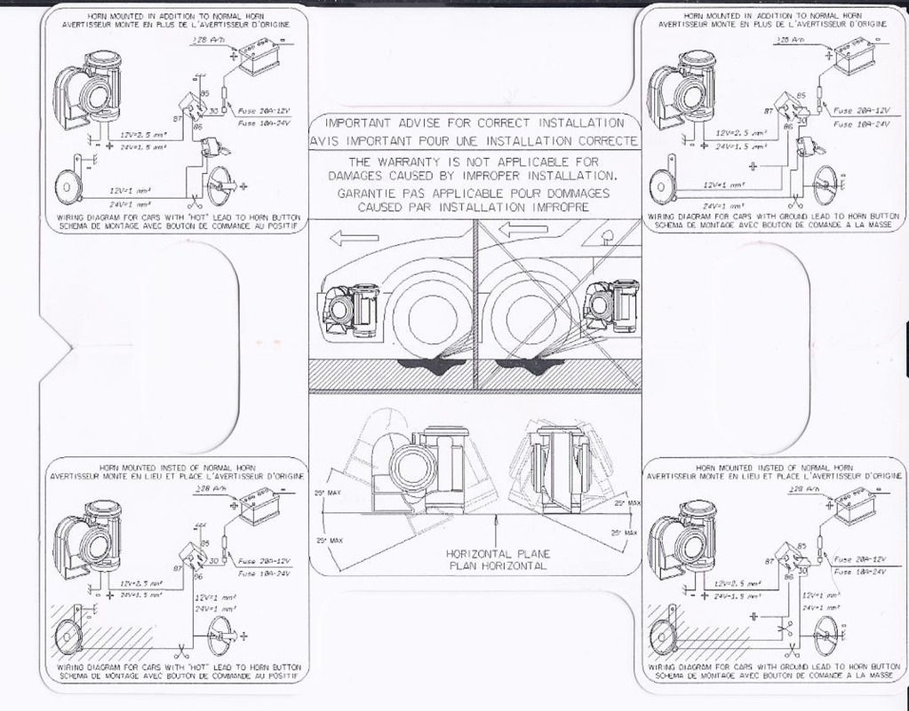 Wiring Diagram For Stebel Nautilus Air Horn Vtx1800