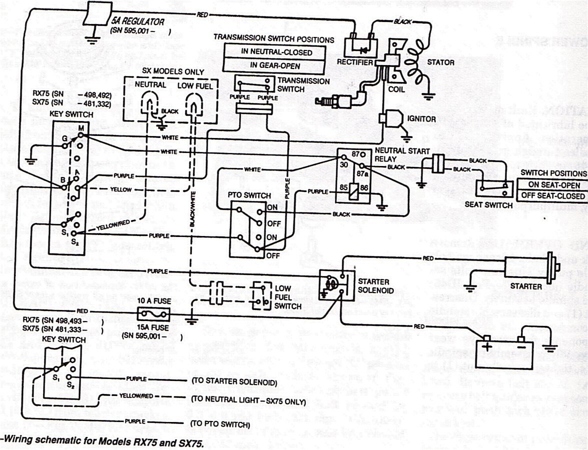 hight resolution of cub cadet 125 wiring diagram
