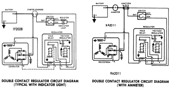 Wiring Diagram For Voltage Regulator Delco 10si