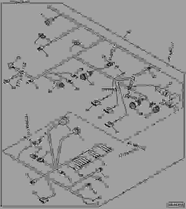 Wiring Diagram John Deere 9560 Combine