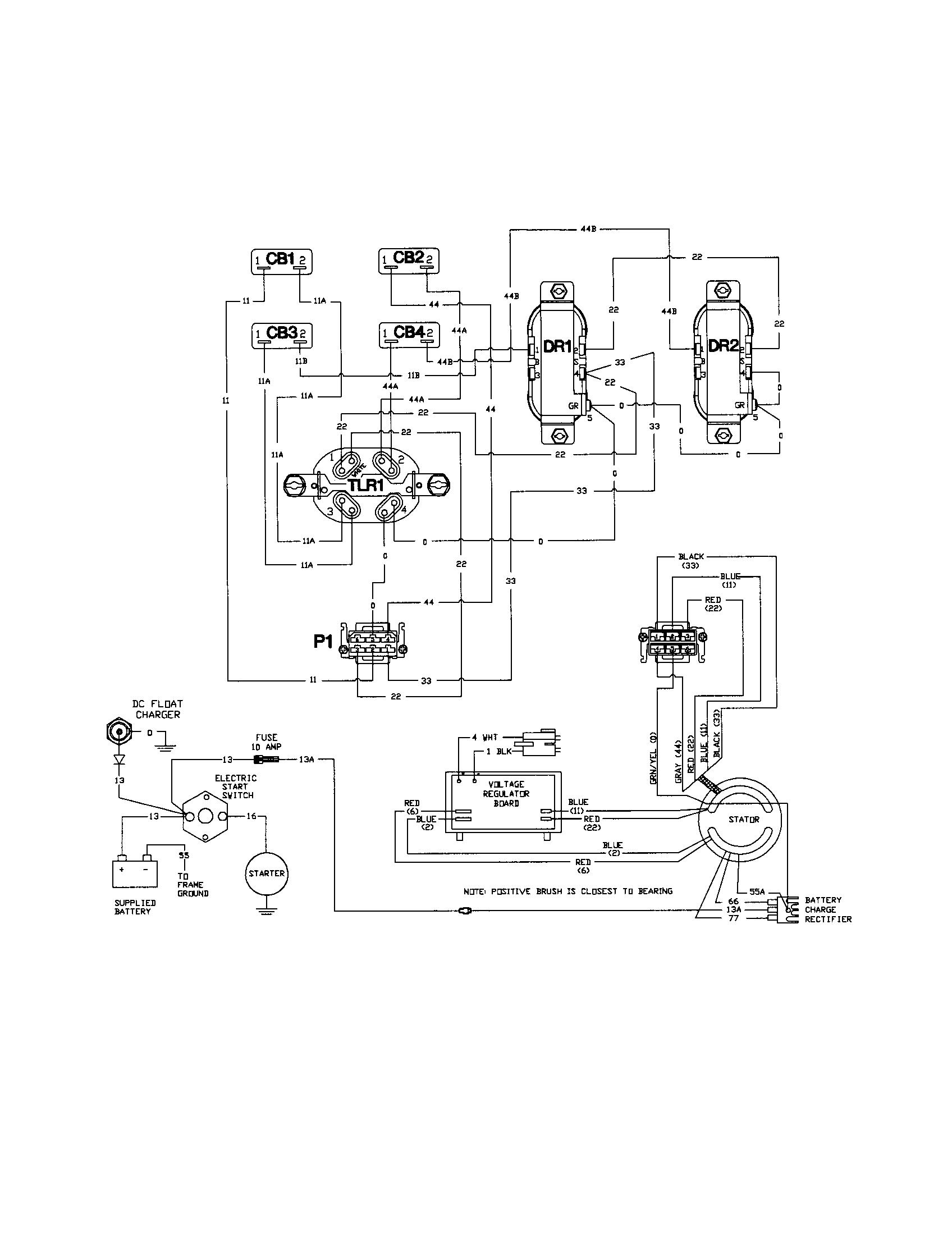 Wiring Diagram Ust 3500w Generator