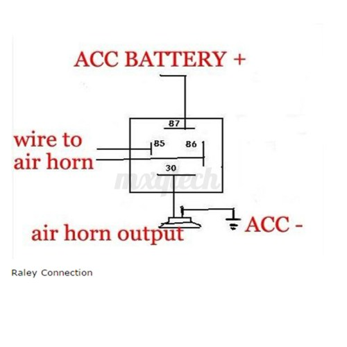 small resolution of air horn wiring diagram