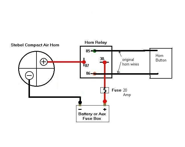 Wolo Horn Wiring Kit Instructions