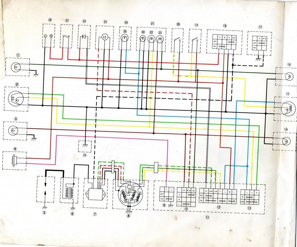 hight resolution of wire schematic yamaha enduro
