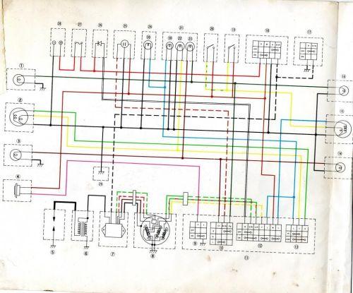 small resolution of wire schematic yamaha enduro