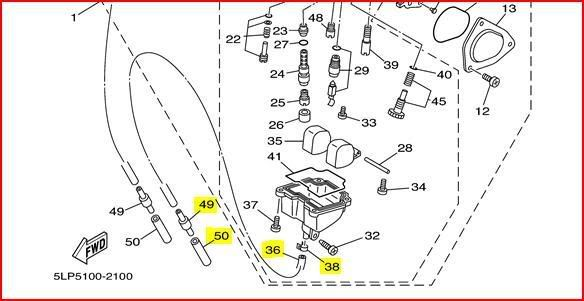 Yamaha Grizzly 660 Carburetor Diagram