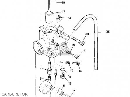 Yamaha Pw80 Carburetor Diagram