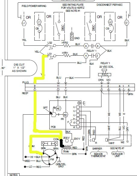 York 5 Ton Package Unit Wiring Diagram D6nz060