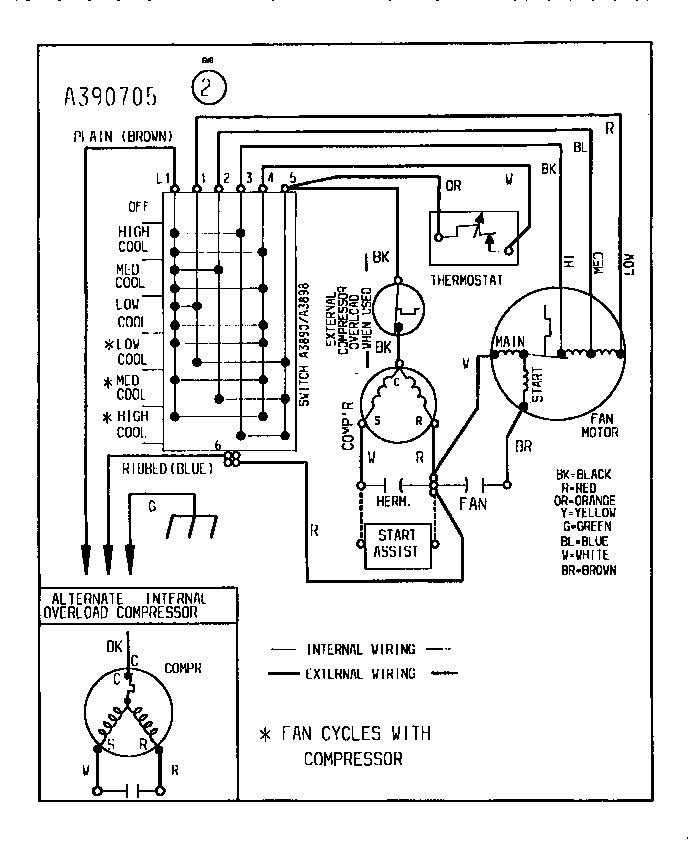 York H1ra042s06d Wiring Diagram