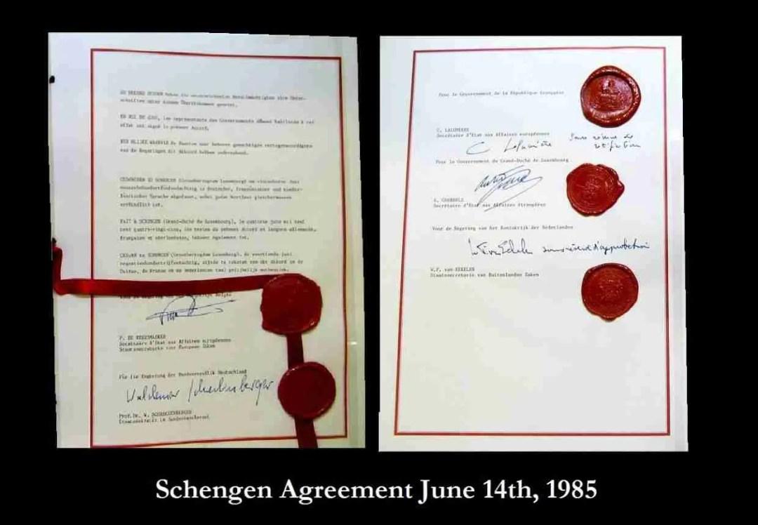 Schengen Agreement 14 June 1985 Preview