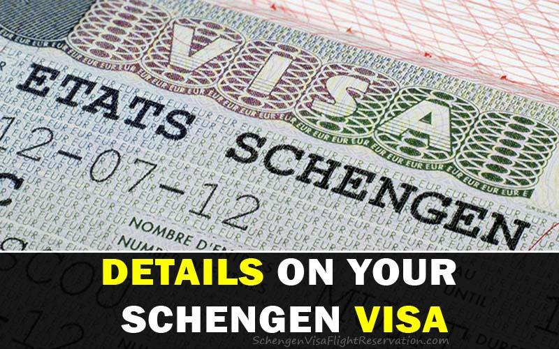 Knows the Details on Your Schengen Visa