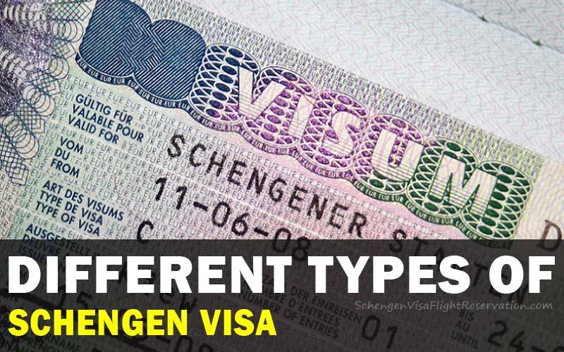 Different Types of Schengen Visa