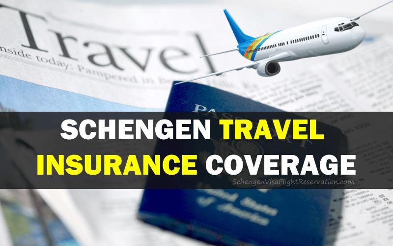 Schengen Travel Insurance Coverage