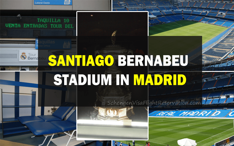 Visiting the Santiago Bernabeu Stadium in Madrid