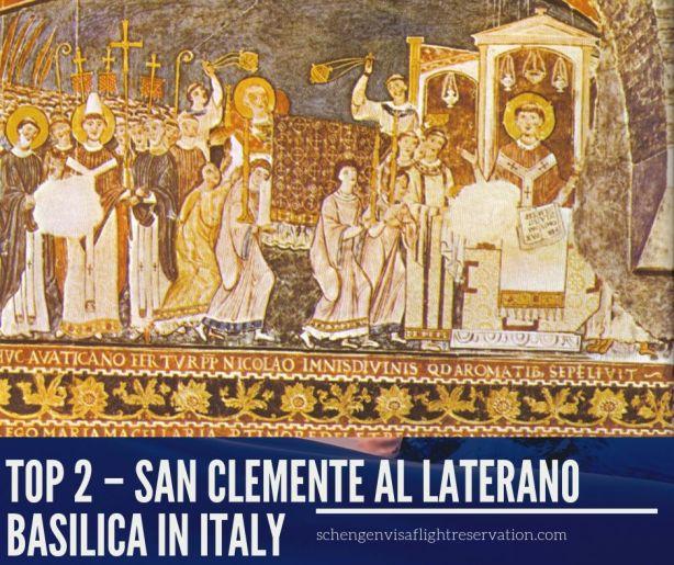 San Clemente al Laterano Basilica in Italy
