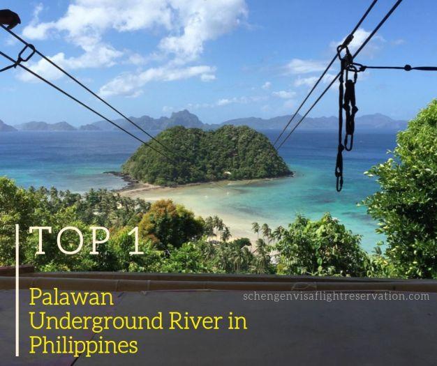 Palawan Underground River in Philippines