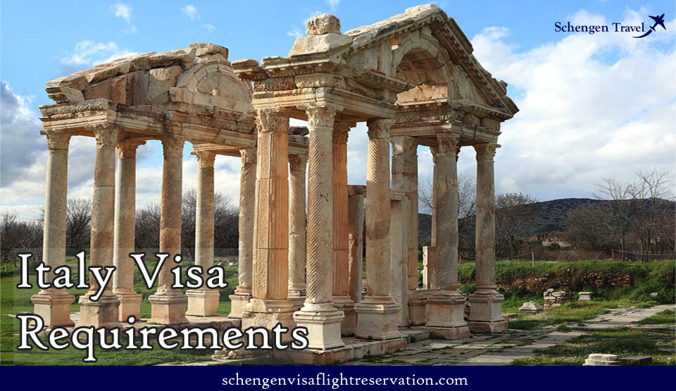 Italy visa requirements