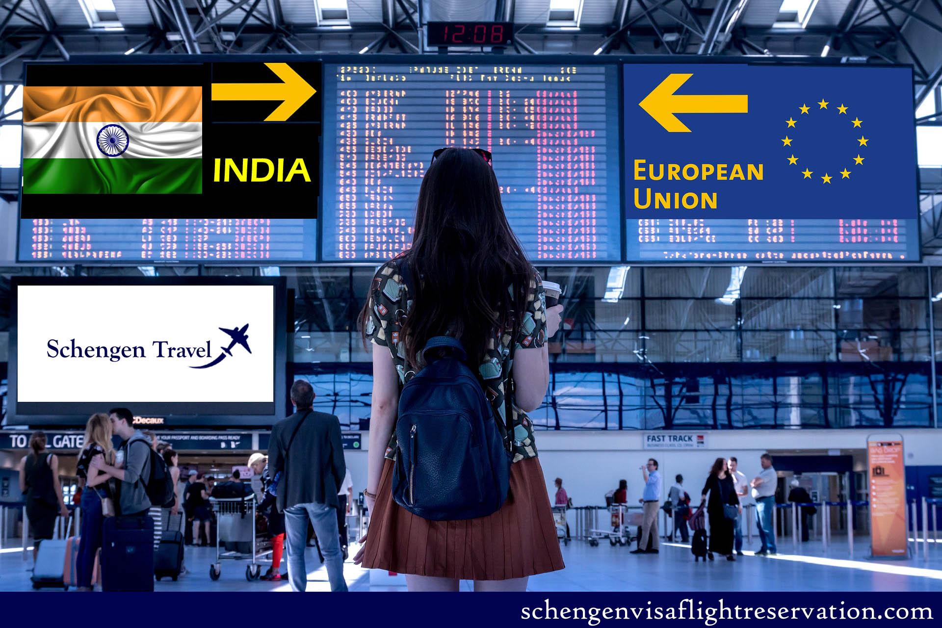 Apply for Schengen Visa in India – European Visa requirement for Indian Nationals