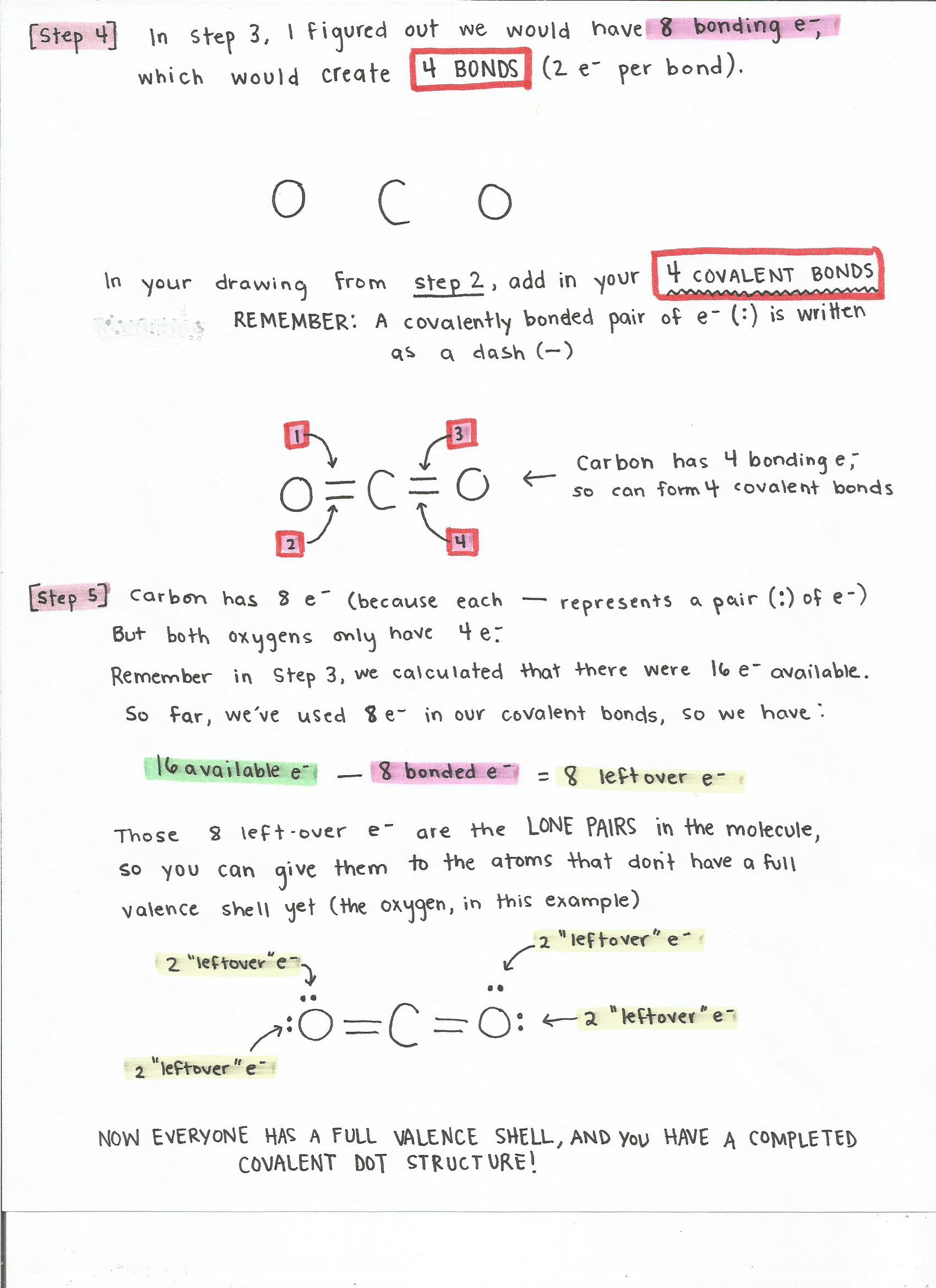 hight resolution of an alternative method for drawing lewis dot structures for covalent bonds page 1