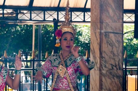 Dancer at the Erawan Shrine