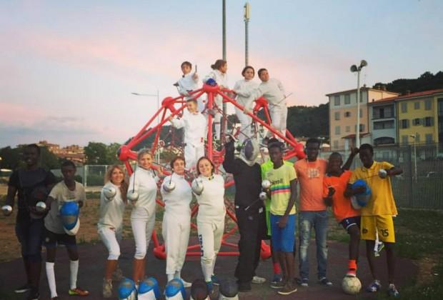 #Fencingmob15 Poggibonsi