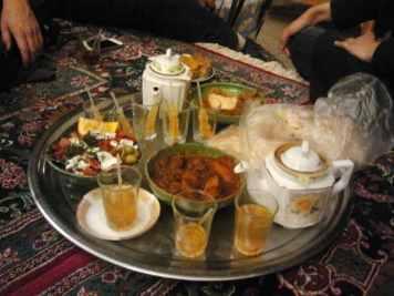 Essen in Yazd