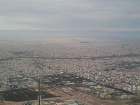 Blick auf Isfahan