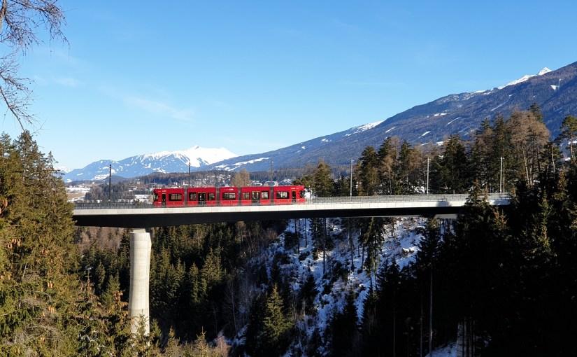 Ein Tag an der Stubaitalbahn