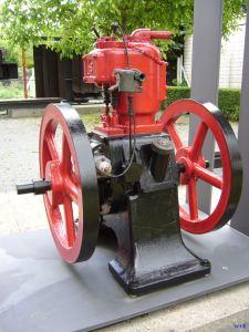 Einzylinder Dieselmotor Schifffahrtsmuseum Wörth