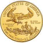 how to buy gold american eagle 1 oz coin - back