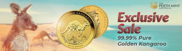Perth Mint 1 oz Golden Kangaroo pre-2018 ShiffGold