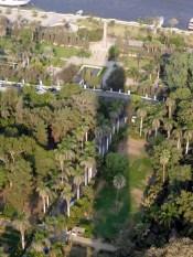 Zamalek ist der einzig grüne Ort in Kairo