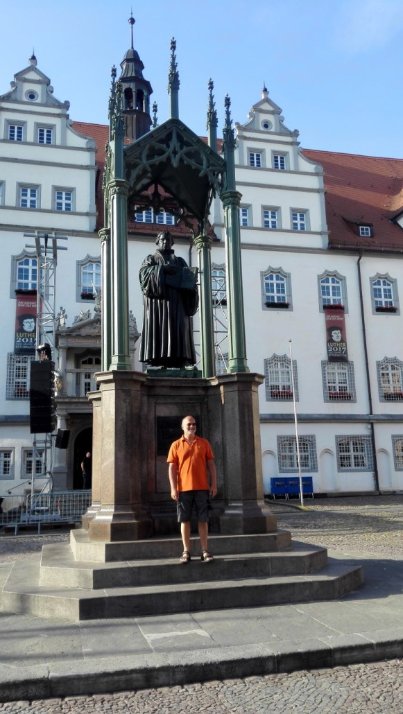 Luther in Wittenberg