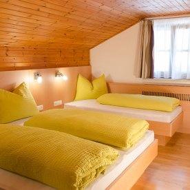 """Ferienwohnung """"Reschen"""" Schlafzimmer"""