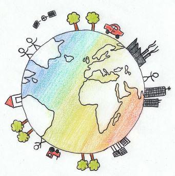 Logo vom Fachbereich Geografie