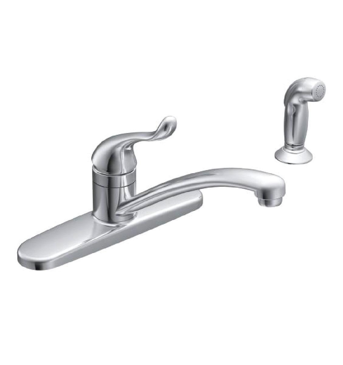 Moen Ca87530 Adler Onehandle Low Arc Kitchen Sink Faucet Hdr Image Parts List And Diagram Ereplacementpartscom