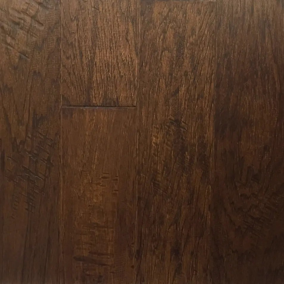 5 x 12 Hickory Warm Earth Engineered  Schillings