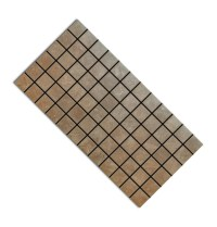 """Affinity Brown Ceramic 2"""" x 2"""" Mosaic Tile - Schillings"""